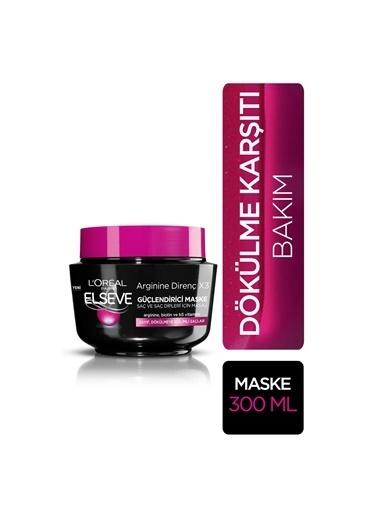 L'Oréal Paris Elseve Arginine Direnç X3 Dökülme Karşıtı Maske 300 Ml Renkli